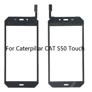 Image 1 - 4.7 inch Mobile Phone Touch Screen For Cat S50 Touch Screen Glass Digitizer Panel Front Glass Sensor TouchScreen Tools