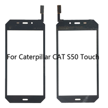 купить Suitable for Caterpillar CAT S50 front touch screen glass for CAT S50 front touch screen LCD components+Free shipping дешево