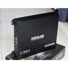 Автомобильный усилитель мощности высокой мощности автомобильный аудио 4-канальный четырехходовой высокого качества 12V автомобильный усилитель изменение K1500.4