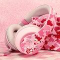 Новинка  проводная гарнитура mr. leaf the Pink Panther  Hi-Fi  спортивные наушники с микрофоном  подарок для девочки
