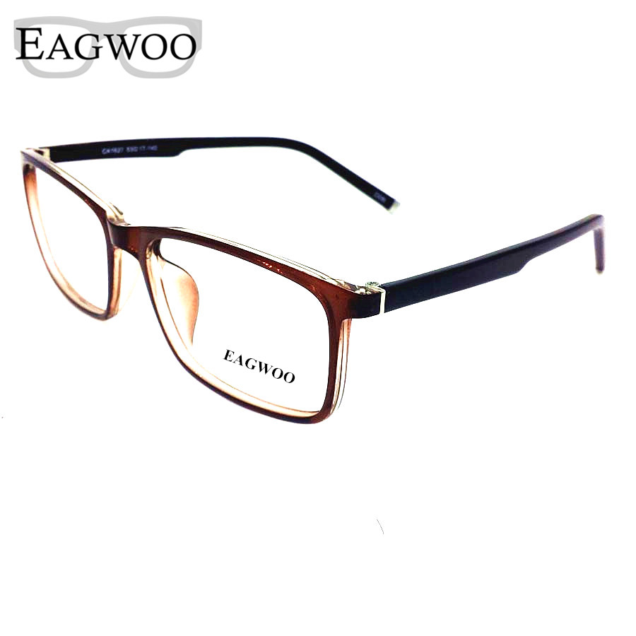 Large Glasses Frame Sizes : Acetate TR90 Eyeglasses Full Rim Optical Frame ...