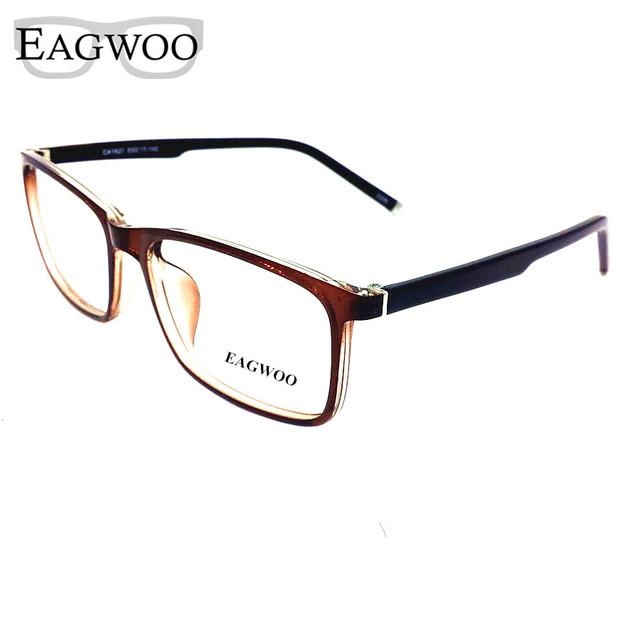 231c60d653 Acetate TR90 Eyeglasses Full Rim Optical Frame Prescription Spectacle Men  Big Size Reading Glasses Light Eye glasses 21627