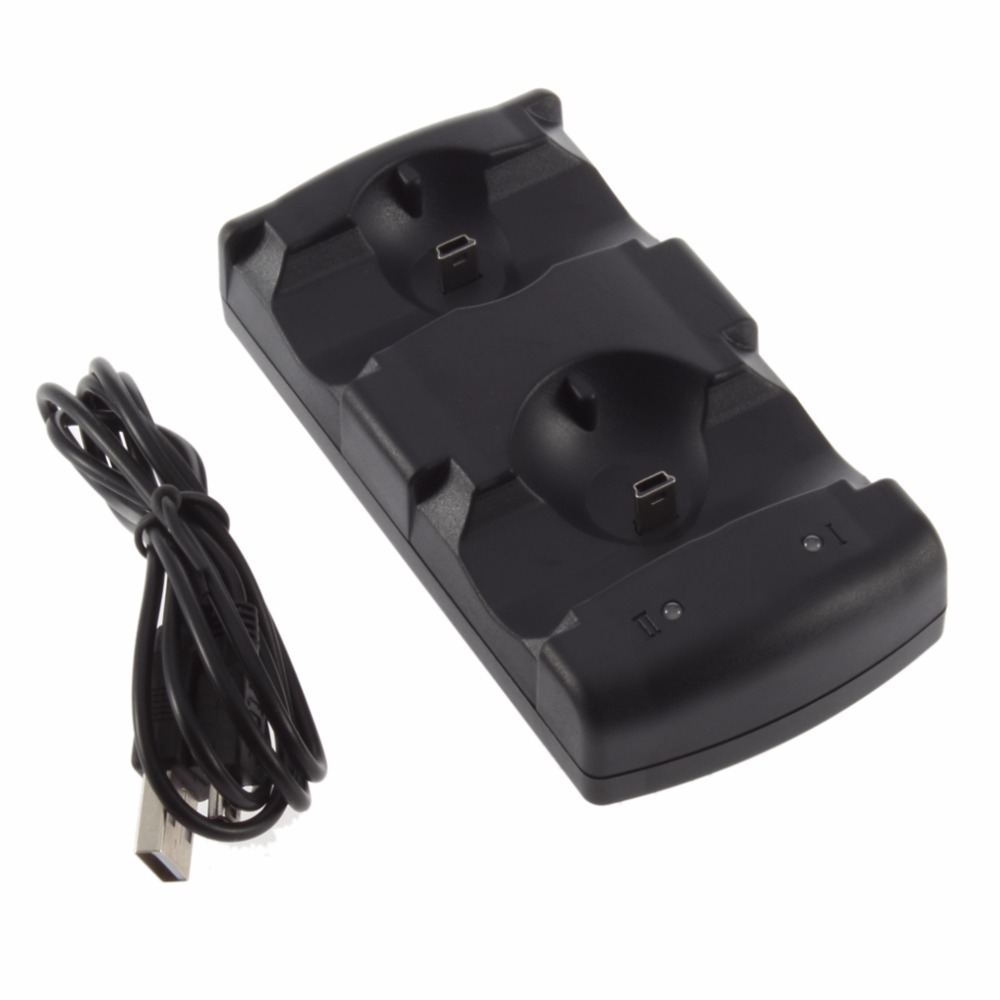 Dual Chargers Usb Dual Charging Powered Dock Charger For Playstation 3 For Sony For Ps3