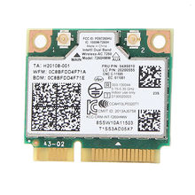 arguto Dual Band Wireless for intel 7260AC 7260HMW ac 802.11ac BT4.0 Card