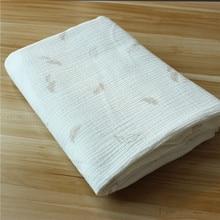 Cotton Crepe   Wear Gauze Printing Seersucker Pants Mosquito Pajamas Fabric