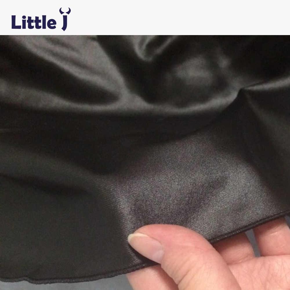 9eef2b5bd8 ... Little J Girls Black Skirts Fashion Elastic Waist Baby Girl PU Faux  Leather Skirt Autumn Kids ...