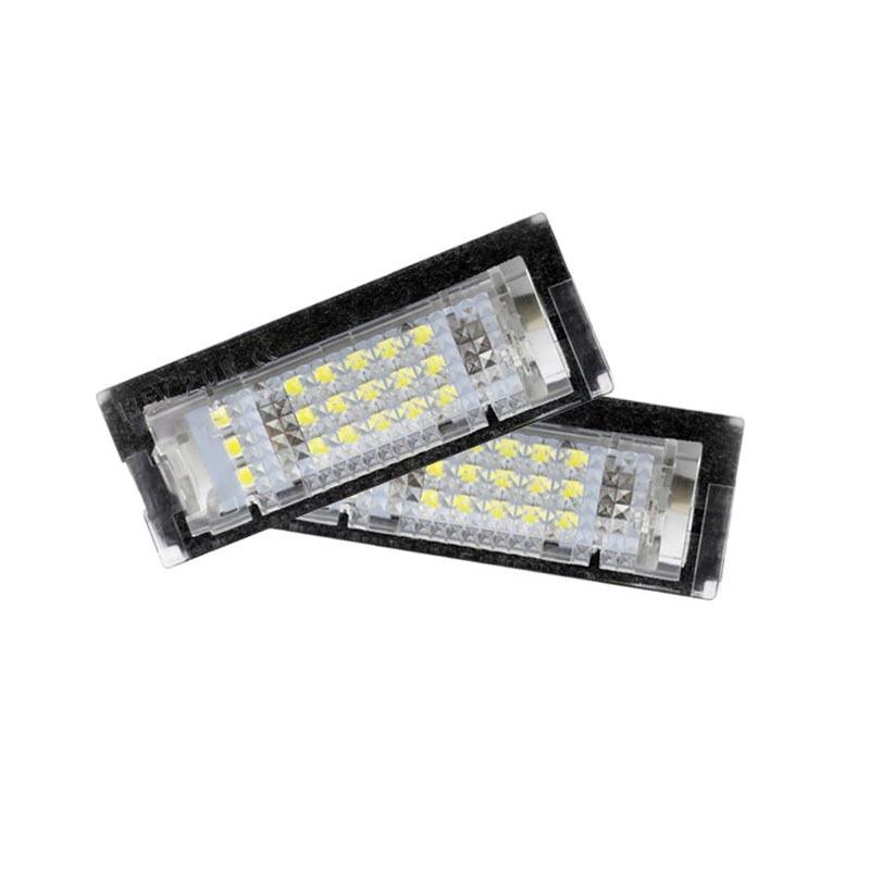 2pcs E39 5D auto LED License Plate Lights for BMW LED number plate light Automobile Tail light 6500K Xenon white Car Lighting