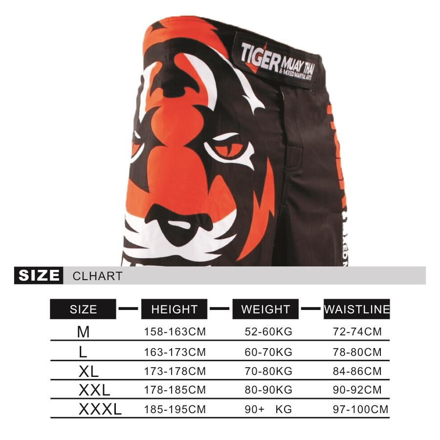 SOTF Tiger Muay Thai MMA shorts Boxing Fighting Sanda ropa boxeo bermuda