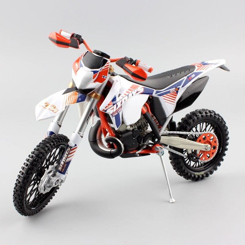 1/12 scale KTM 300 EXC Six 6 Days ISDE Italy Finland Kotka Hamina enduro Motorcycle Diecast metal model Motocross racing car toy reima hamina
