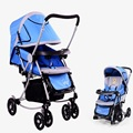 New Ultra Light Four Wheel Boarding Folding Children Stroller Baby Stroller Car Kid Carriage Buggy Pram 0-3 years baby
