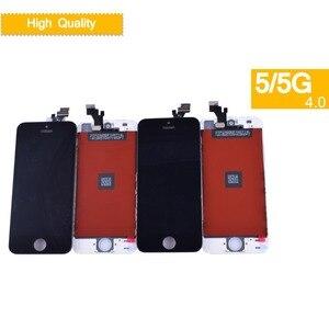 Image 5 - 10 unids/lote para iphone 5 SE 5C 5S reemplazo del digitalizador de pantalla táctil para iphone 5 S monitor LCD SE completa