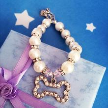 Pearl Embellished Collar Necklace