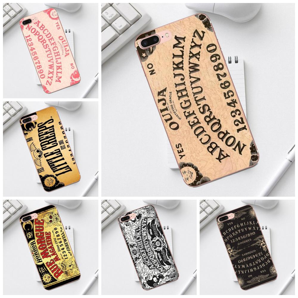 For <font><b>Galaxy</b></font> Alpha Core Prime Note 4 5 8 <font><b>S3</b></font> S4 S5 S6 S7 S8 S9 mini edge Plus TPU Accessories Case Top Quality Retro Ouija <font><b>Board</b></font> image