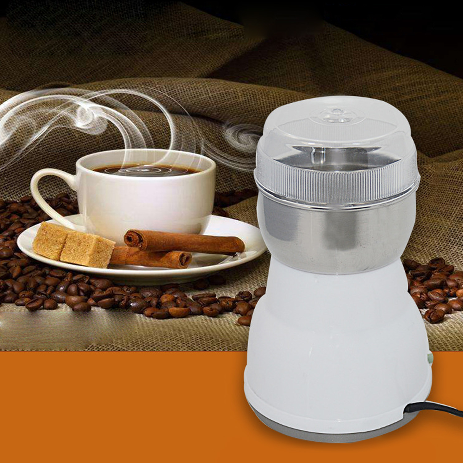 Behogar Electric Coffee Grinder Spice Beans Spice Nuts