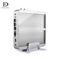 Kingdel Fanless Mini PC 32GB DDR4 RAM 512GB SSD Skylake Intel Core i5 6260U 3.1GHz Mini PC Windows10 Nettop 4K VGA SD Card Port