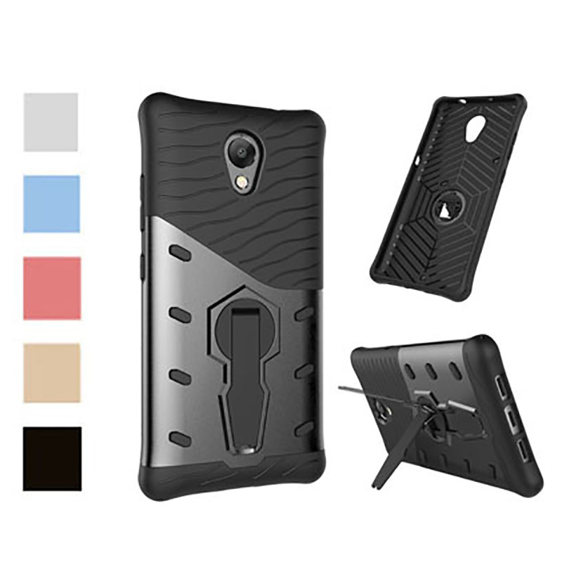 For Lenovo P2 Case 5.5inch 360 Shockproof Anti-konck with stand Armor Protective Shell  For Lenovo Vibe P2 P 2 P2C72 Back Cover(China)
