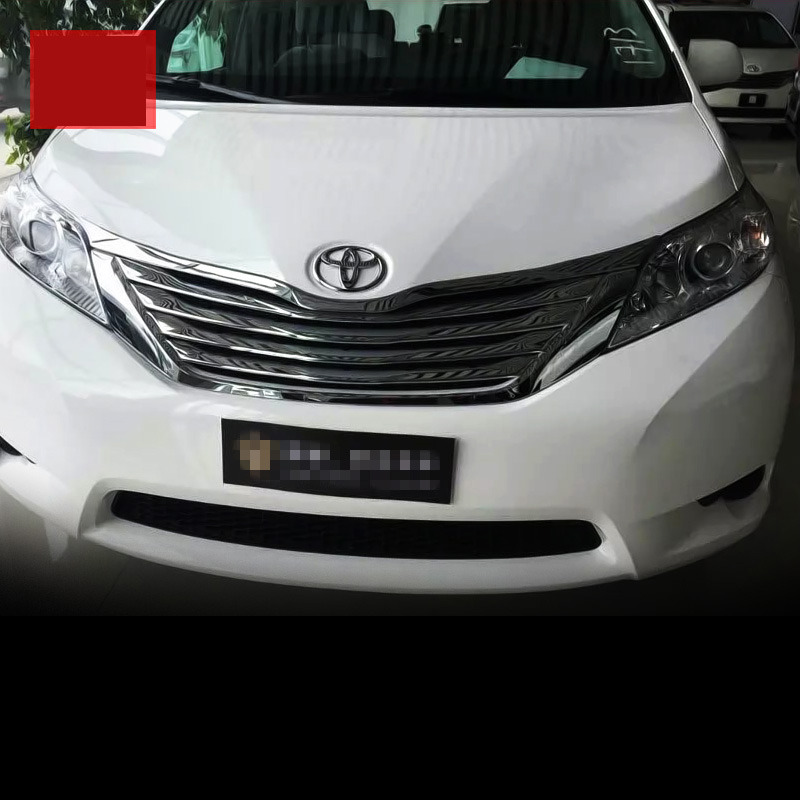 2016 Toyota Sienna Exterior: Lsrtw2017 Car Styling Car Front Grill Net Trims Chrome For
