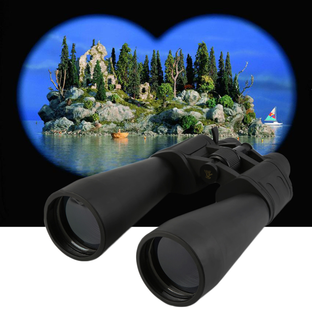 1Pc Professional hunting Telescope Adjustable 10X Zoom Binoculars Light Night Vision Outdoor waterproof Free Shipping bijia professional optic night vision telescope 8 24x50 zoom binoculars hd waterproof for outdoor camping with tripod interface