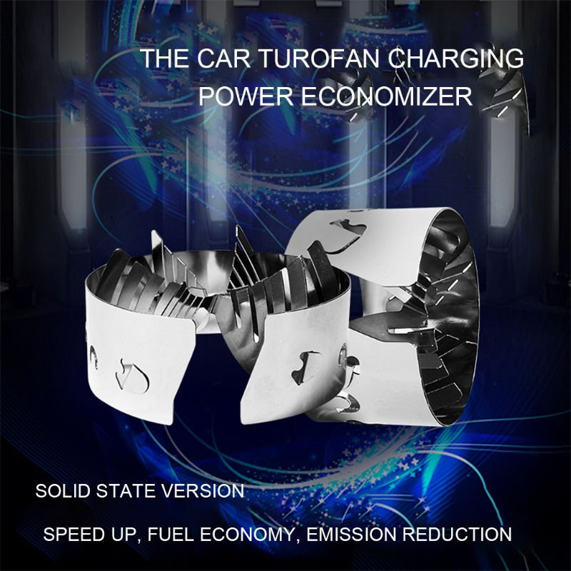 Automotive Solid-State Turbofan Booster Power Acceleration Vehicle Intake And Exhaust Conversion Fuel Economy