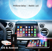 5G WiFi Affichage Téléphone Intelligent à Voiture Audio Via Airplay Mirroring Miracast DLNA Allshare Soutien IOS10 HDMI AV TV bâton
