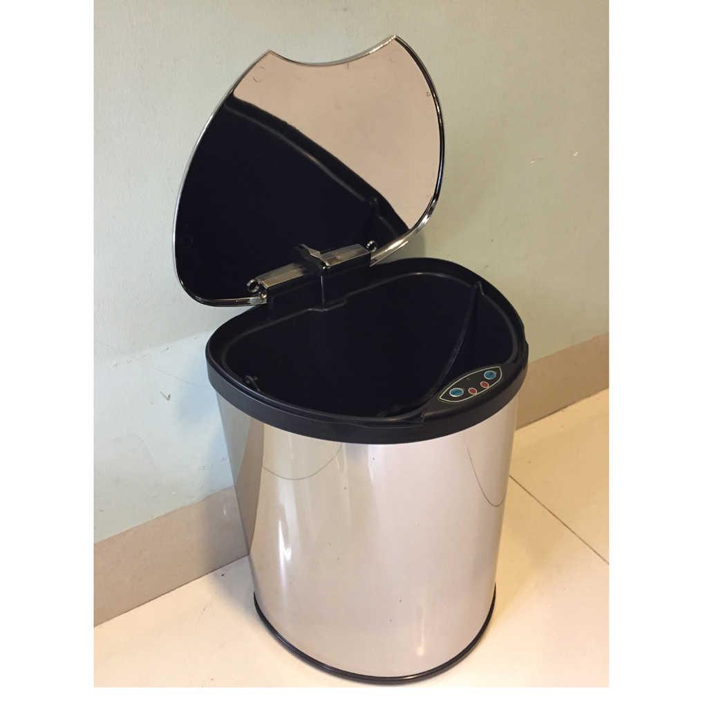 Waste Bin Auto Open Close Trash Can