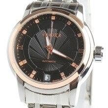 BIAOKA Brand Fashion Rose gold Watch ladies Clock Classic Mechanical Wrist relojes mujer Dress Skeleton Watch 100 m Waterproof