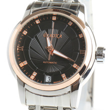 BIAOKA Brand Fashion Rose gold Watch women Clock Classic Mechanical Wrist relojes mujer Dress Skeleton Waterproof Watch