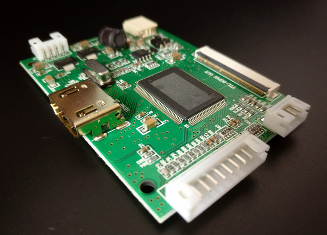 Pantalla LCD TFT de 10,1 pulgadas 1024*600, Monitor con Control remoto, tarjeta controladora HDMI para Lattepanda,Raspberry Pi Banana Pi