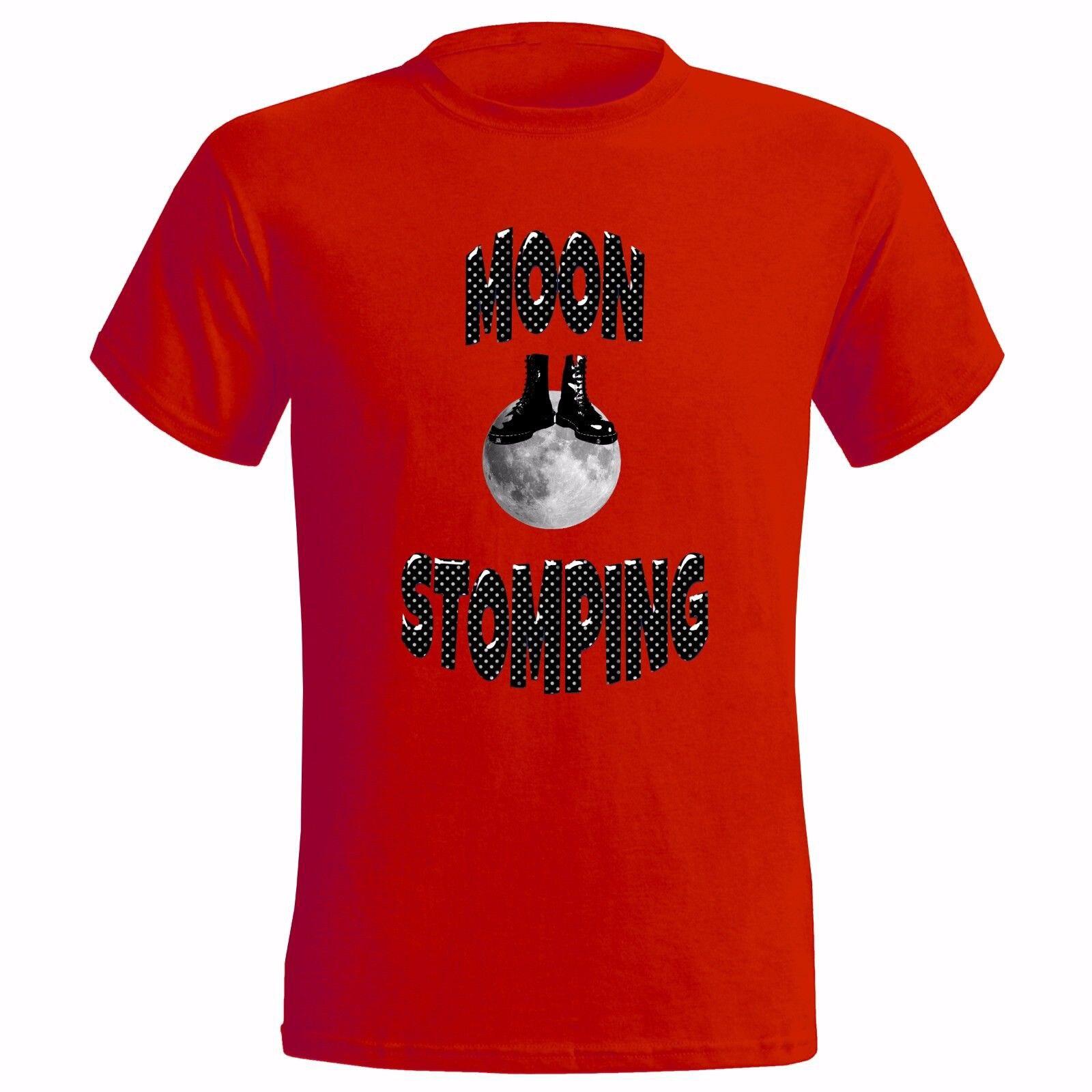 Moon Stomping Design Mens T Shirt Skinhead Ska Reggae Specials Two