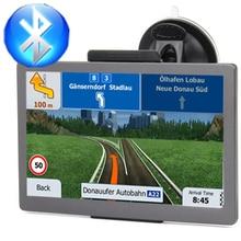 Автомобильный gps навигатор 7 дюймов HD FM Bluetooth Голос trafflc сигнализация грузовик навигации 128 м+ 8 г памяти Последние Европа географические карты