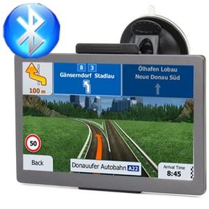 Car GPS navigator 7 inch HD FM
