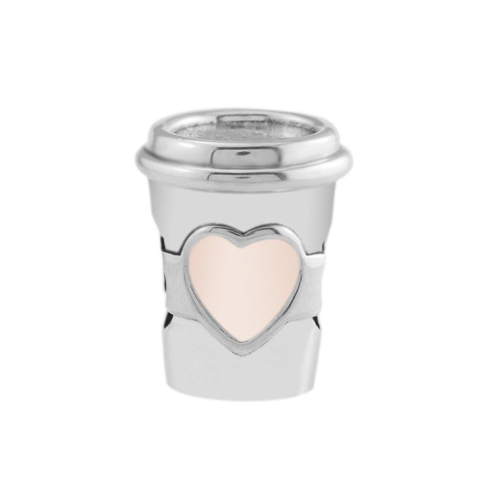 Pandulaso de Boissons Pour Tout le Charme D'été Collection Perles Convient Charms 925 Argent D'origine Bracelets Pour Femme DIY Fabrication de Bijoux