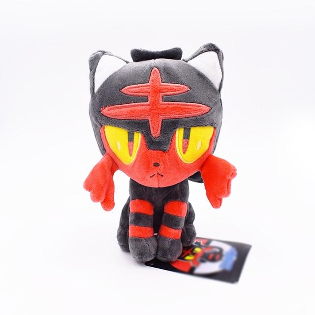 Аниме игрушка Покемон Литтен 20 см