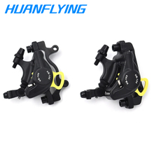 MTB Bike HB-100 Line Pulling Hydraulic Disc Brake Calipers Front Rear Brake Sets Compatible With E-BIKE Xiaomi M365 Disc Brake electric bike hydraulic brake disc set harley scooter front and rear wheel brake and the rear seat with seat back seat bracket