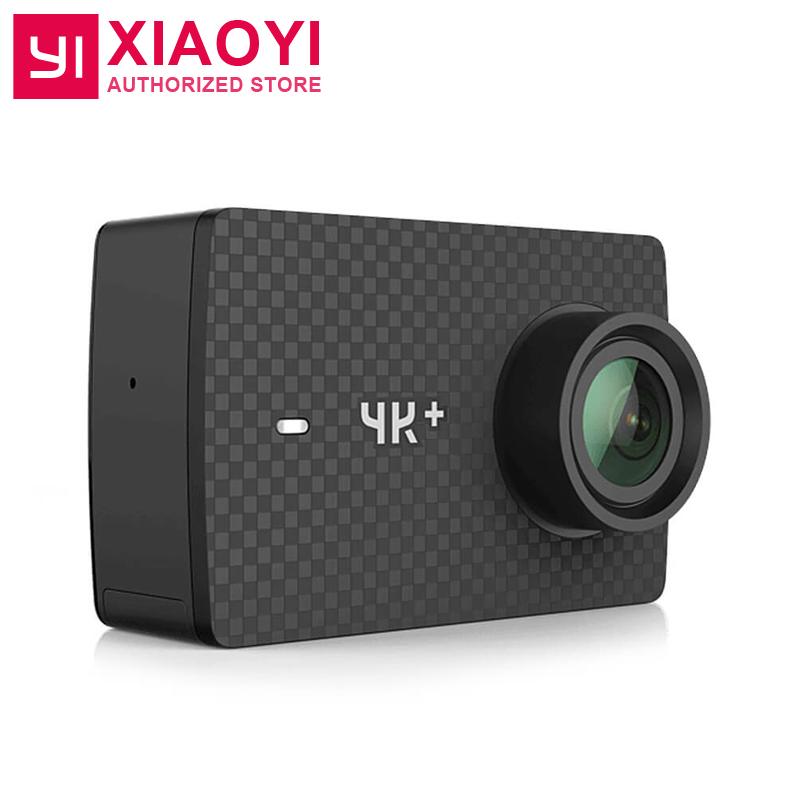 """Prix pour Édition internationale yi 4 k plus action caméra ambarella h2 4 k/60fps 12mp 155 degrés 2.19 """"BRUT Xiaoyi 4 K + Action Sports Caméra"""