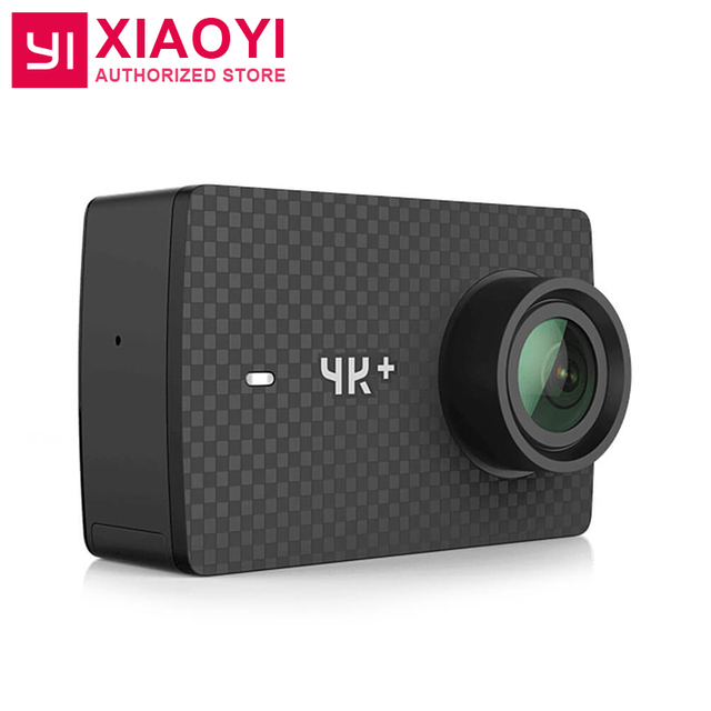 "International Edition YI 4K Plus Action Camera Ambarella H2 4K/60fps 12MP 155 Degree 2.19"" RAW Xiaoyi 4K+ Sports Action Camera"