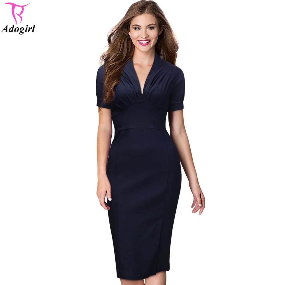 Online Get Cheap Sheath Dress Navy -Aliexpress.com  Alibaba Group
