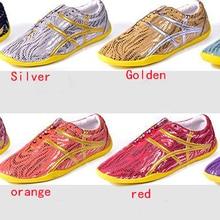 Кроссовки унисекс для выступлений ушу; обувь для занятий тайцзи; обувь для боевых искусств кунг-фу; Цвет фиолетовый, красный, синий, серебристый