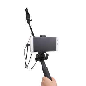 Image 4 - Phone Mount Holder Smartphone Bracket Adapter Clip For DJI Osmo Pocket Extension Pole Phone Clip Handheld Gimbal Accessories