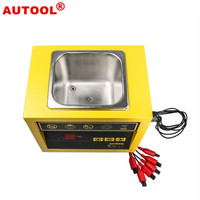 AUTOOL CT100 CT 100 Petrol Injector Ultrasonic Fuel Injector Cleaner/Tester Machine for Car Motorcycle 110V/220V