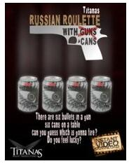 Russian Roulette With Cans By Titanas Video Magic Tricks