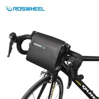 Roswheel Road Mountain Bike Bag 3L Waterproof MTB Front Head Basket Shoulde Packing Bicycle Handlebar Bag