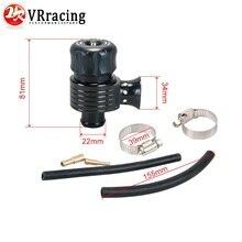 VR RACING-черный 50/50 Bov предохранительный клапан Recirc Клапан& клапан сброса для AUDI A3 S3 A4 A6 A8 S4 TT 1,8 20v RACING TURBO VR5743BK