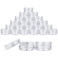 Бутылочка для макияжа 100X, прозрачный пластиковый контейнер для образцов, мини-бутылка, Баночки, косметические инструменты, 5 мл, бутылка для макияжа, Прямая поставка, Jan4
