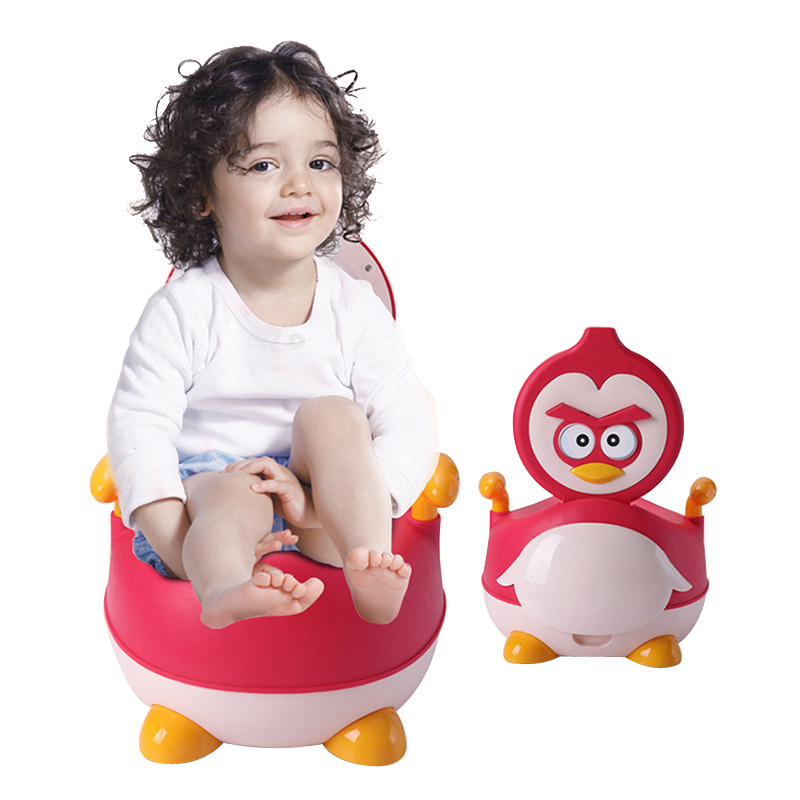 Baby Potty Baby Toilet Cute Bird Cartoon Children's Pot Training Boy Girls Pot Child Toilet Seat Portable Children's Potty Chair new baby potty portable cute cartoon musical kids toilet cars children s pot wc child potty chair training girls boy toilet seat