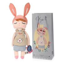New Arrival Genuine Metoo Angela Rabbit Dolls Bunny Baby Plush Toy Cute Lovely Stuffed Toys Kids