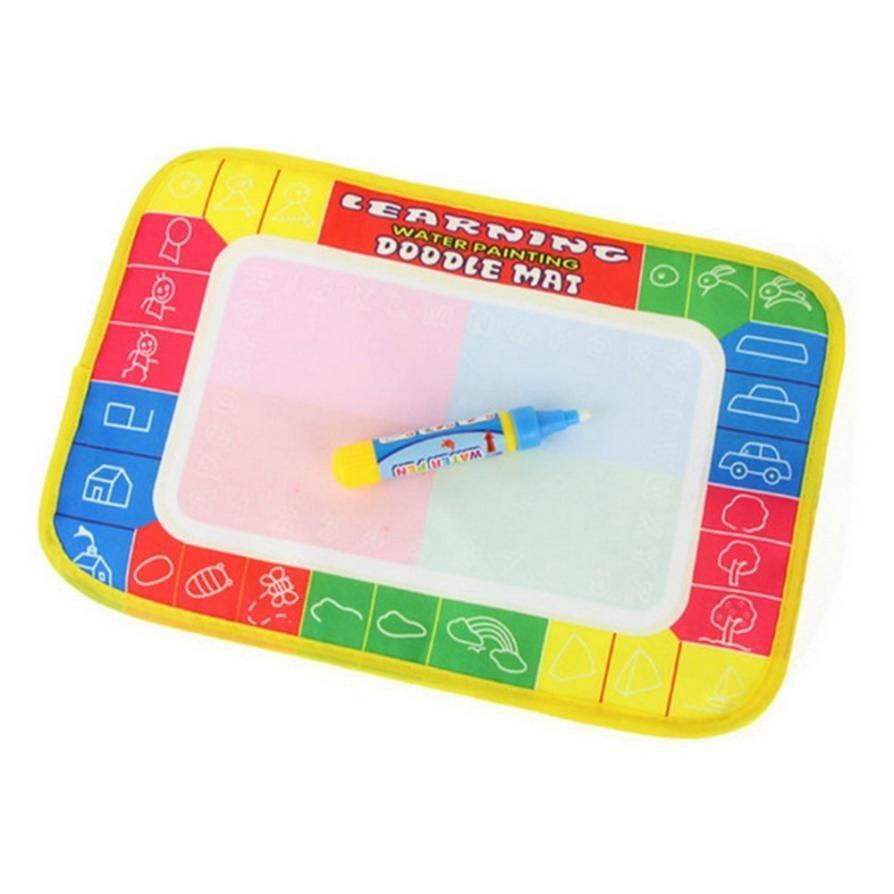 29X19cm-Mini-Water-Drawing-Mat-Toys-for-Children-Aquadoodle-Mat1-Magic-PenWater-Drawing-BoardBaby-Play-Mat-3