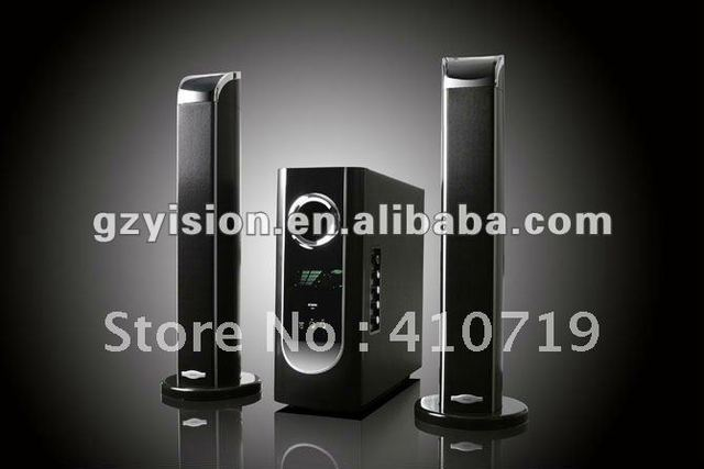 2.1 home theater speaker with power bass sound
