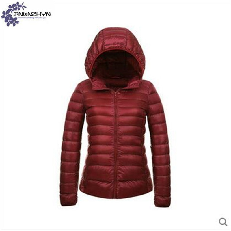 TNLNZHYN Women clothing short Cotton coat winter fashion hooded Long sleeve big size leisure keep warm female Cotton coat TT628 europe and the united states long sleeve hooded keep out the cold winter to keep warm and comfortable cotton coat