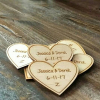Custom Laser Engraved Save The Date Wooden Tags For Wedding Rustic Bridal Shower Favor Tags Save